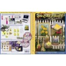 Garden Flowers...You Can Paint + CD/DVD