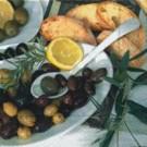 Assiette d'olives