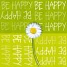 Be happy (vert)