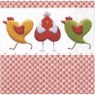 Poules en coeur