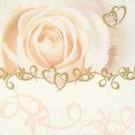 Rose de mariage