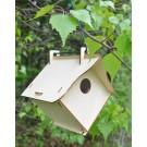 Cabane à oiseaux démontable