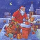 Distribution de cadeaux (cheminée)