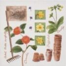 Accessoires de jardinage (Blanc)