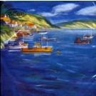 Bateaux dans le Fjord