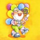 Clown avec des ballons