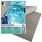 Papier palette gris 9X12 (40)