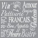 Pochoir - Vivre à la française