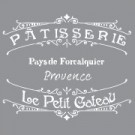 Pochoir - La boulangerie française