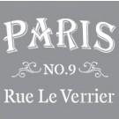 Pochoir - Rue Parisienne