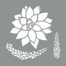 Pochoir - Succulentes (2)