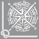 Pochoir - Nœud Marin