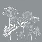 Pochoir - Fleurs sauvages