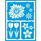 Pochoir Adhésif - Floral