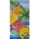 Palmier et fruits