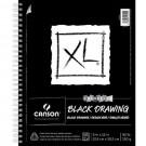 Canson XL Dessin noir 9X12 (40)