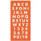 Mod Podge Moules - Alphabet