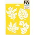 Pochoir - Plus de feuilles