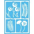 Pochoir Adhésif - Jardin Botanique