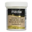 Media Medium - Peinture craquelée blanche 4oz