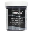 Media Medium - Pâte à modeler noire 4oz