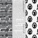 Decoupage Paper - Silhouette d'époque