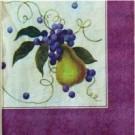 Raisins et poire