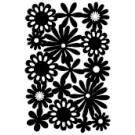 Pochoir - Explosion de fleurs