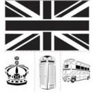 Pochoir - Ensemble Londres