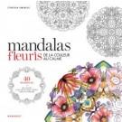 Mandalas fleuris - 40 coloriages