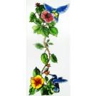 Patron - Colibris et hibiscus
