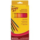 LC Crayons de couleur (36) Simply Art