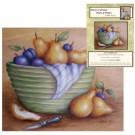 Patron - Poires et prunes