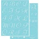 Pochoir - Alphabet Élégant