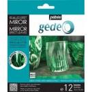 Feuilles effet miroir - vert (12)
