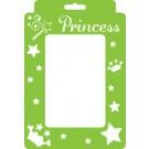Pochoir Cadre - Princesse