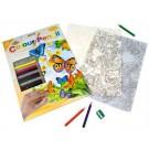 Crayon à colorier par #  Papillons
