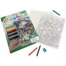 Crayon à colorier par #  Poisson tropicaux