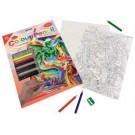 Crayon à colorier par #  Jour de lavage