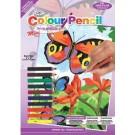 Crayon à colorier par # mini -  Brt Butterflies