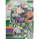 Crayon à colorier par # mini - Tropical Sea Life