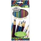 Crayons à colorier métalliques (12)