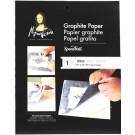 Papier graphite blanc 18X24