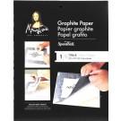 Papier graphite gris 18X24
