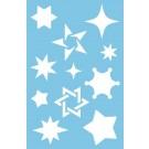 Pochoir - Étoiles