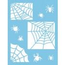 Pochoir - Toile d'araignée (Gabarit)