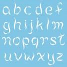 """Pochoir - Alphabet Ballerine 1.5"""""""