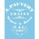 Pochoir - Pauvert Grains - 1