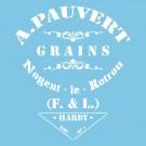 Pochoir - Pauvert Grains