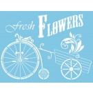 Pochoir - Fresh Flowers